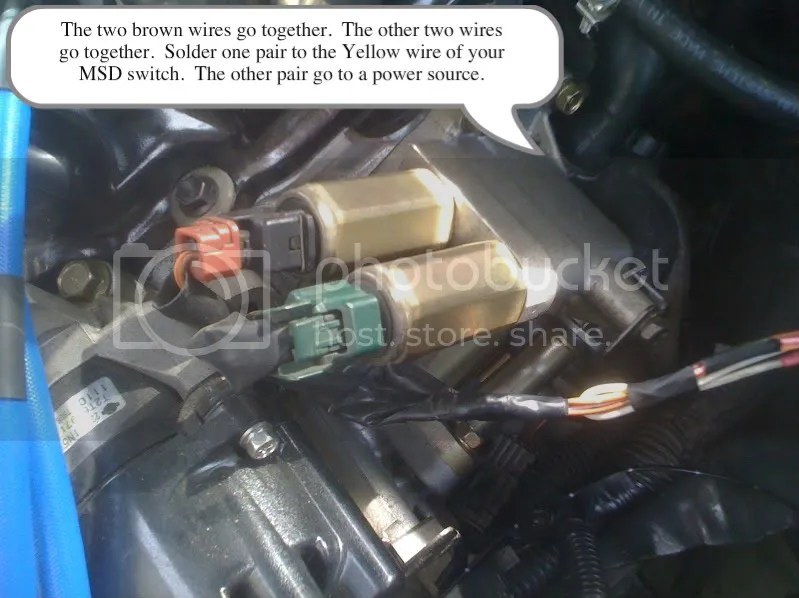 How to Wire up your MSD RPM activated switch for your VVL