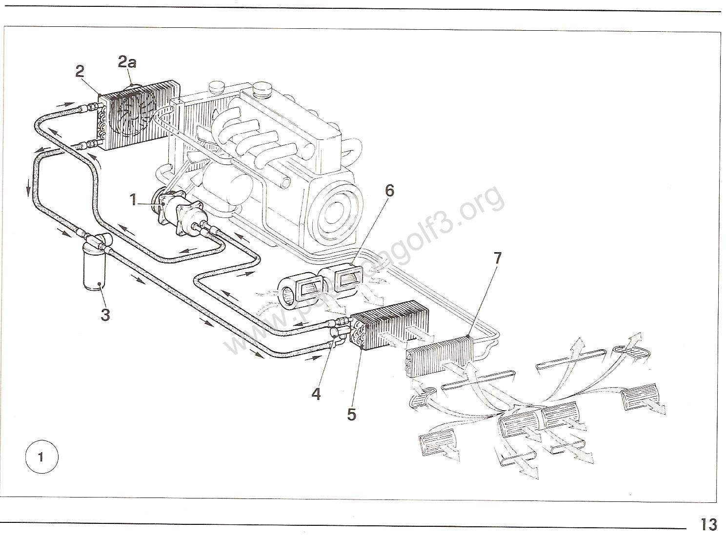 schema moteur volkswagen fox