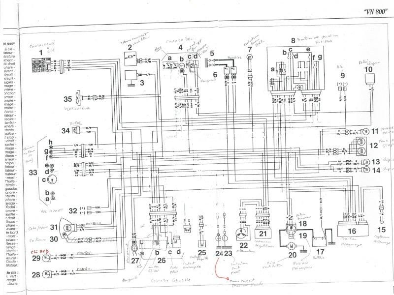 kawasaki vulcan 1500 classic schema cablage