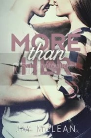 more than her cover