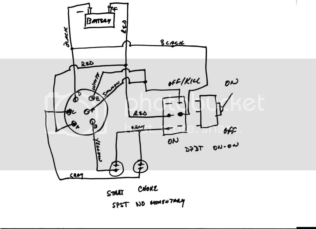 outboard motor kill switch wiring diagram