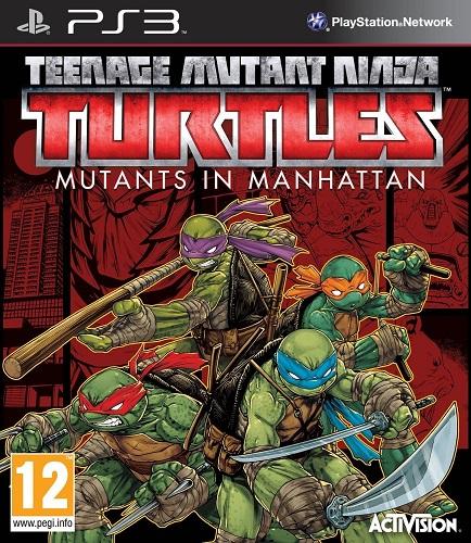 Teenage Mutant Ninja Turtles Mutants In Manhattan PS3-DUPLEX