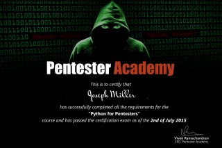 Pentester Academy: Course bundle including projects, sourse codes and pdfs
