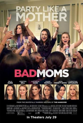 Bad Moms (2016) BRRip XviD AC3- EVO