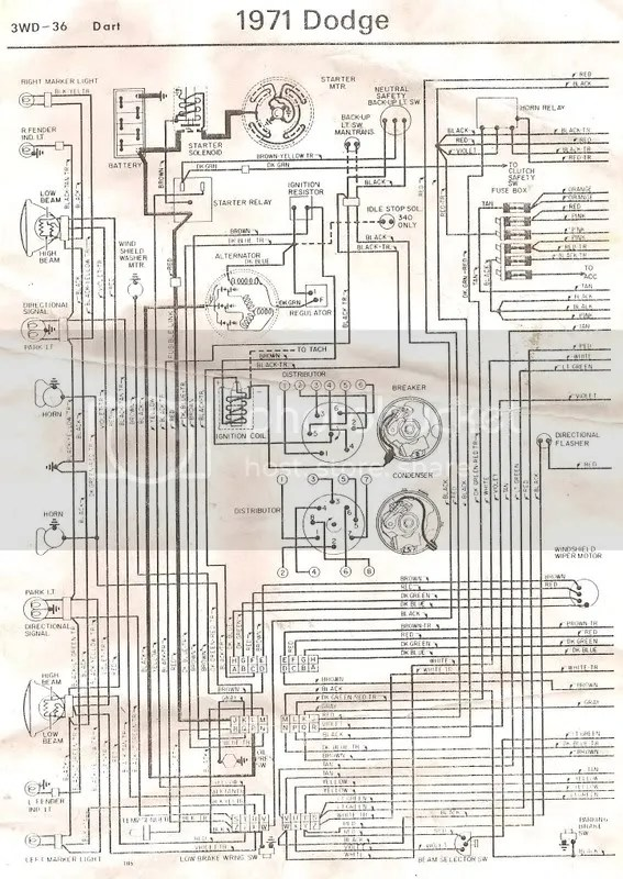 Plymouth Duster Ignition Wiring Wiring Diagram