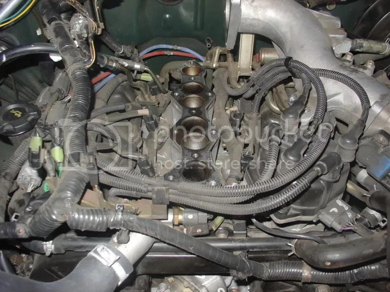 How to Replace knock sensor on a 33 supercharged engine