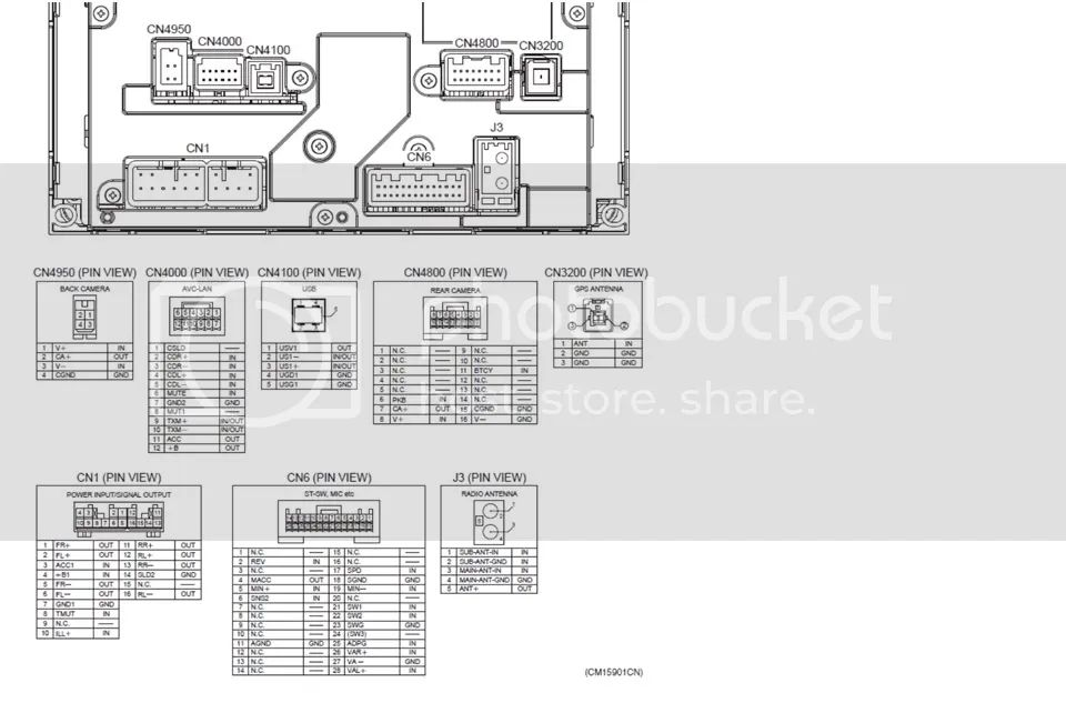 reverse camera wiring diagram