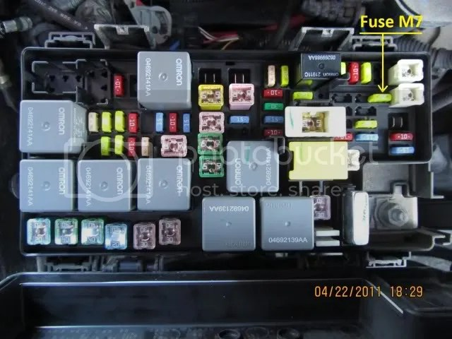 Jeep Wrangler JK 2007 to Present Fuse Box Diagram - Jk-Forum