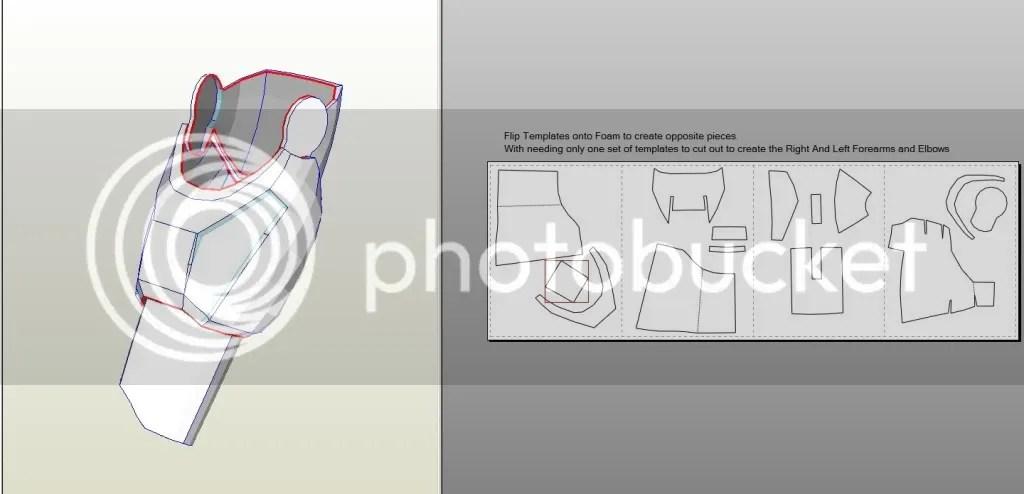 Iron Man Arm Template - Design Templates