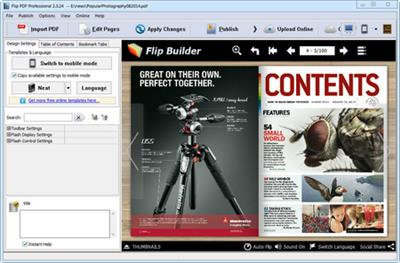 FlipBuilder Flip PDF Professional.2.4.3.1 Multilingual