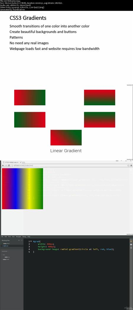 CSS3 Gradients for Web Designers 2016