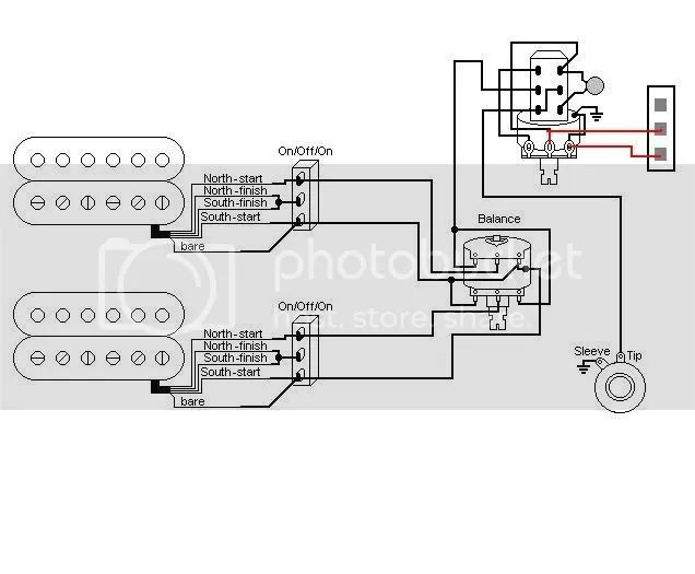 dimarzio humbucker from hell wiring diagram