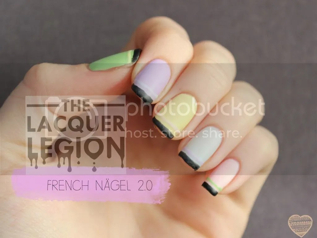 French Nägel Polished With Love French Nägel 2 Lacquer Legion Aktion