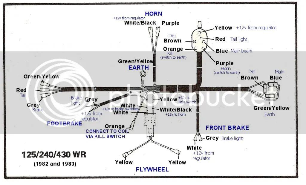 wiring diagram 1983 husky wr250