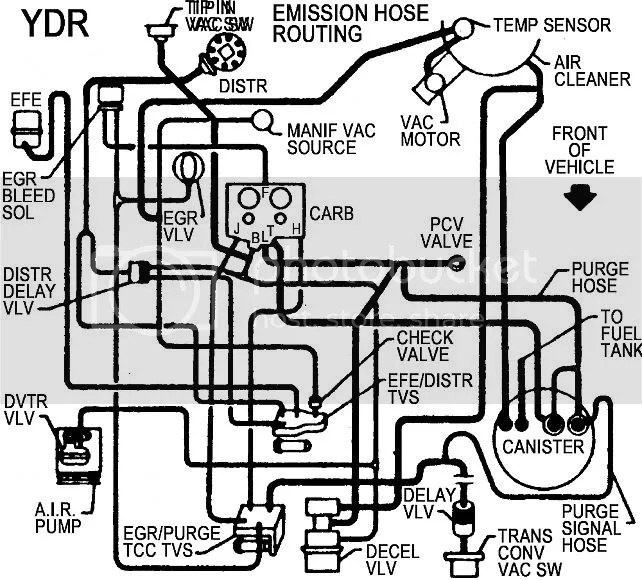 1978 Chevy Pickup Vacuum Diagram - Best Place to Find Wiring and