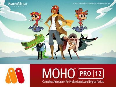 Smith Micro Moho (Anime Studio) Pro 12.0.0.20763.Portable (x64)