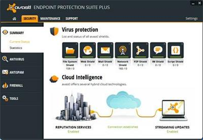 Avast! Endpoint Protection Suite Plus.8.0.1607