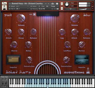AudioThing Bowed Harp (KONTAKT)