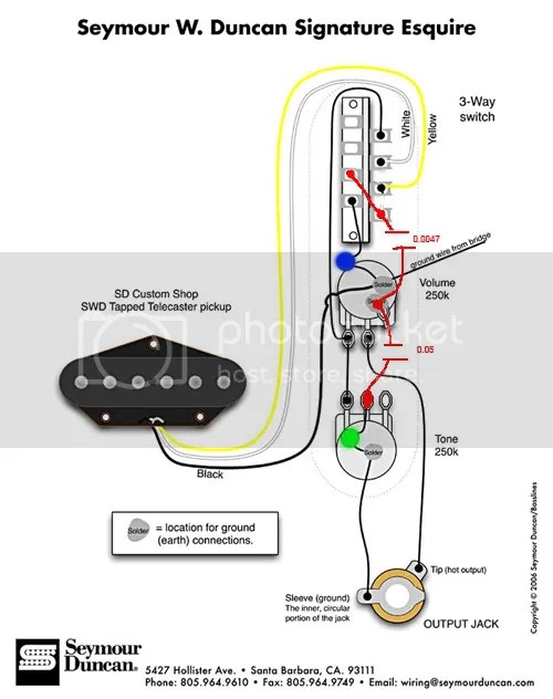 How to wire my esquire!