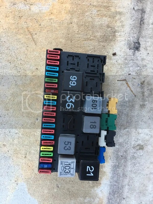 VWVortex - FS b4 tdi fuse block with fuses/relays