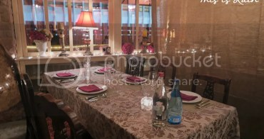 [Dining。Tasting] LeMarron。環境優美 私隱度高 法國餐廳