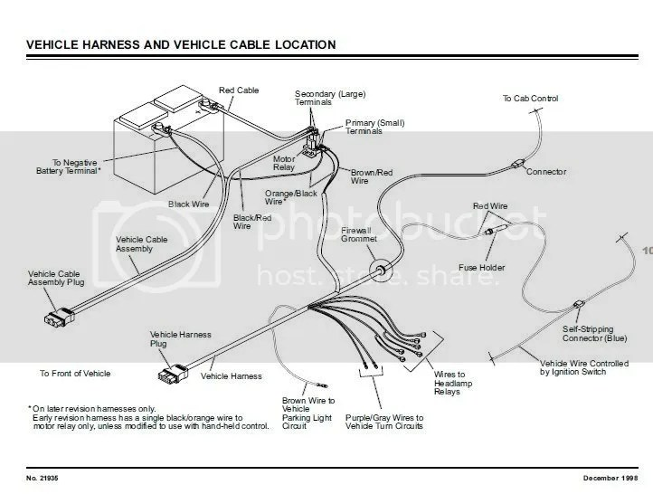 Diamond Snow Plow Wiring Diagram Wiring Schematic Diagram