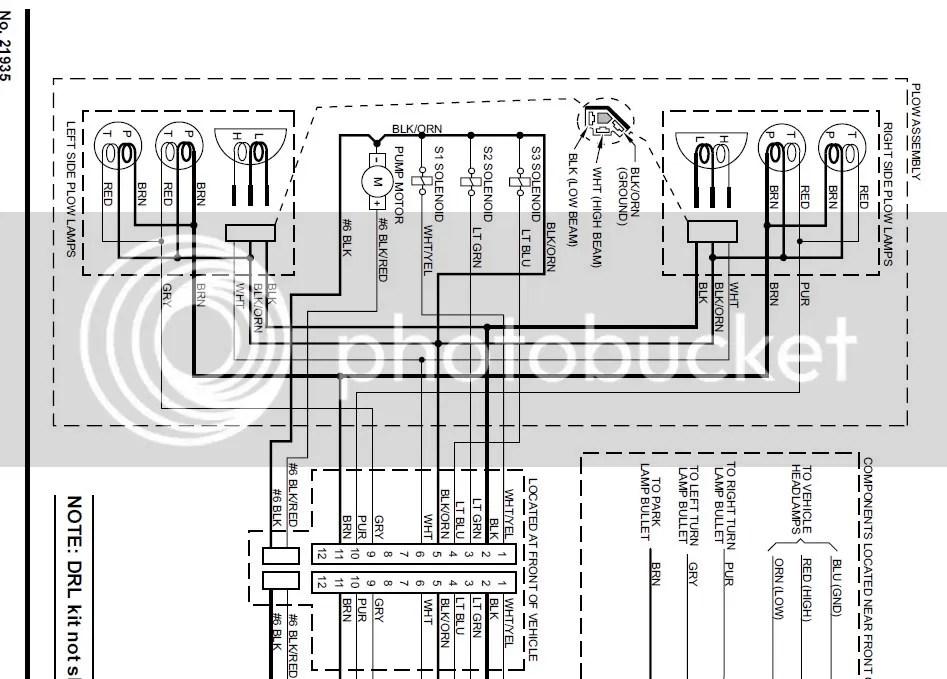 Meyers Plow Wiring Diagram Wiring Diagram
