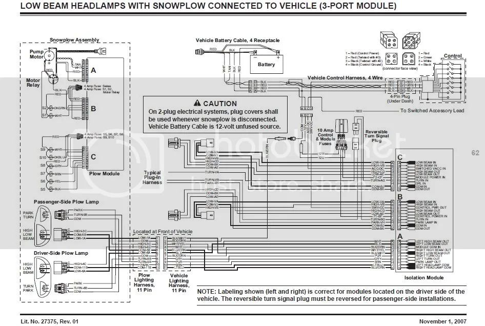 western ultramount plow wiring diagram chevy