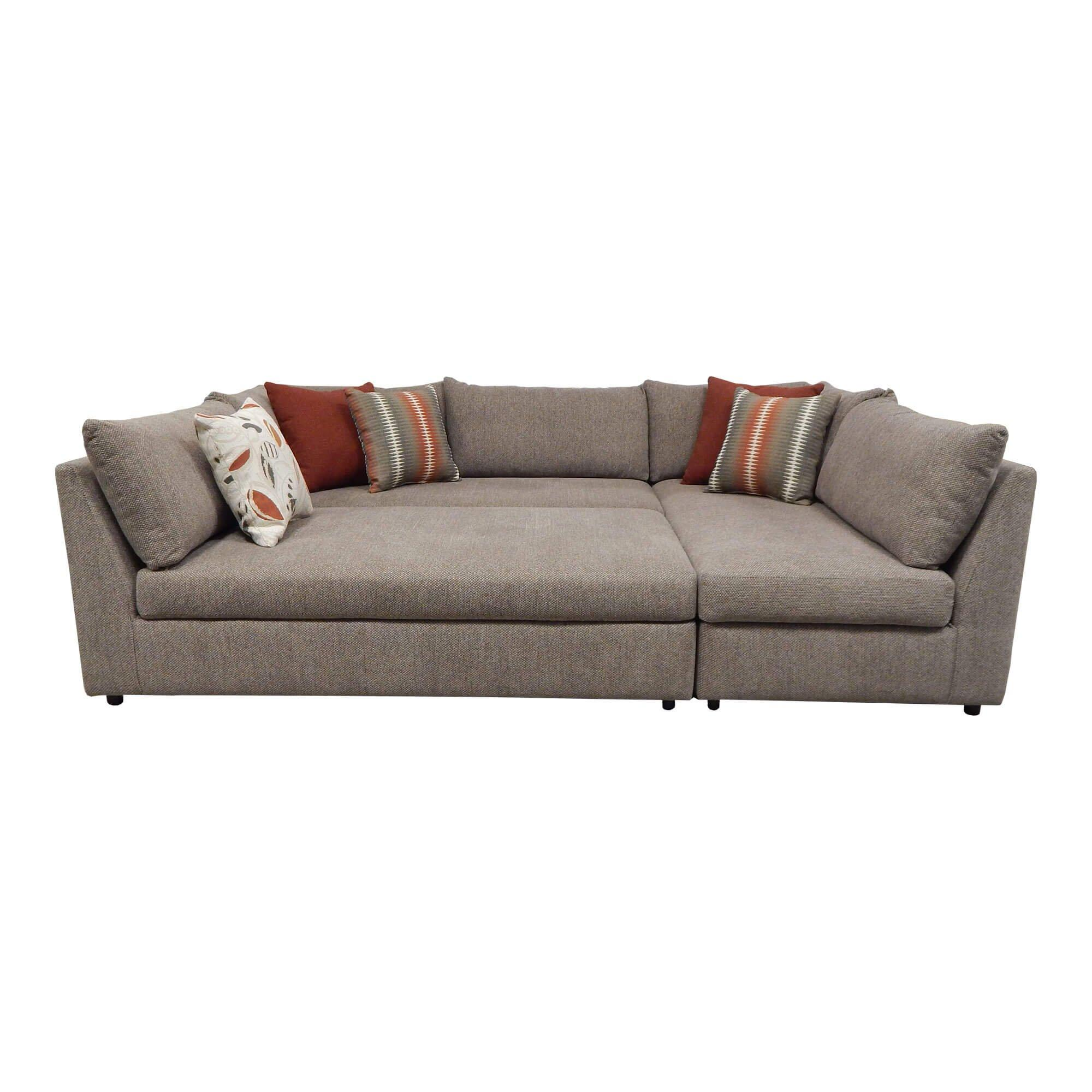 Rent To Own Woodhaven 3 Piece Puzzle Chaise Sectional Sofa At Aaron S Today