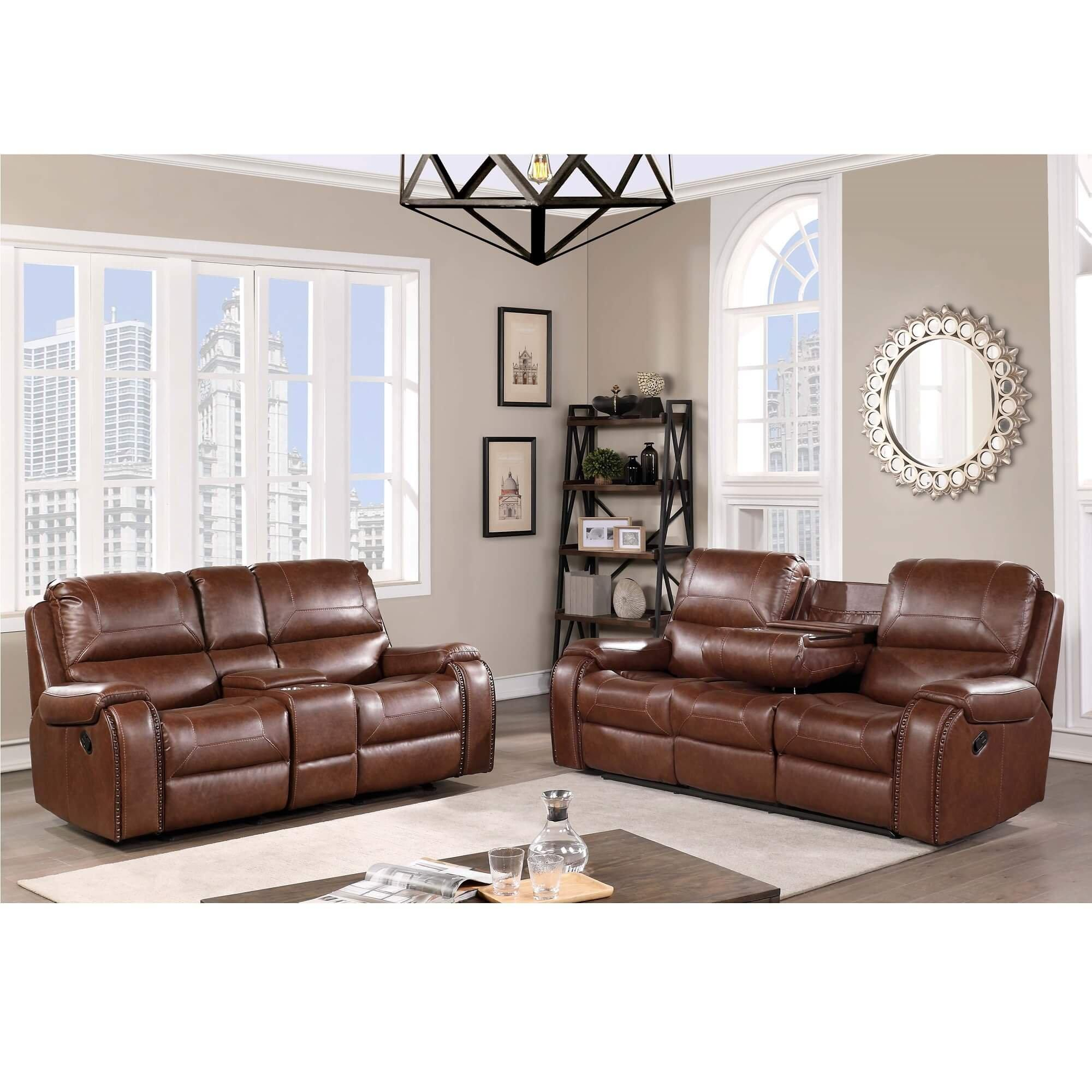 Rent to Own H317 2-Piece Shiloh Reclining Sofa & Loveseat at Aaron's today!