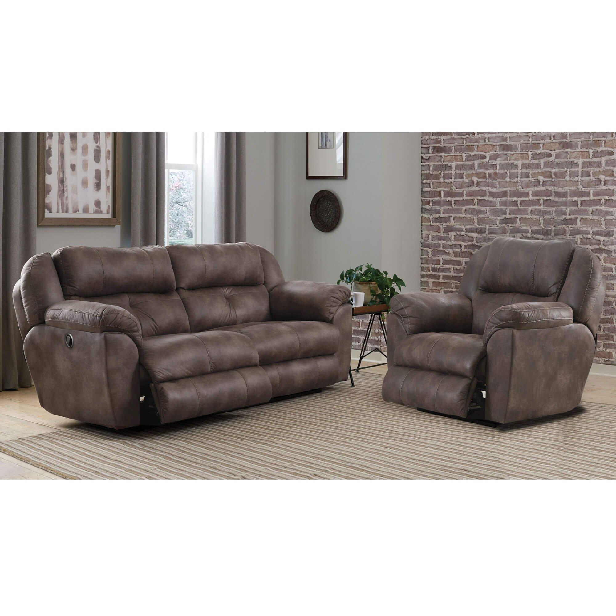 Rent To Own Catnapper 2 Piece Brady Reclining Sofa Wall Hugger Recliner At Aaron S Today
