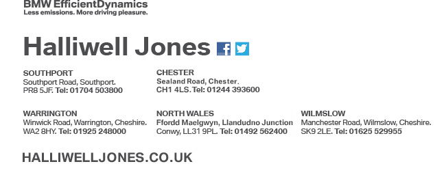 Contact us at Halliwell Jones