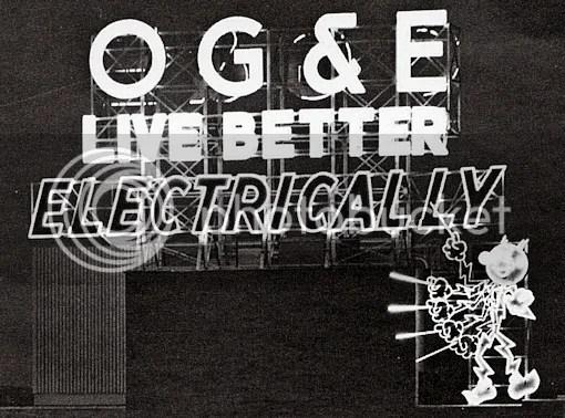 Doug Dawgz Blog OKC Through The Eyes of OGE - og and e