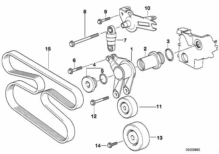 318 Schema moteur