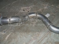 Glass pack custom exhaust
