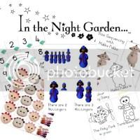 FREE DOWNLOAD:  In the Night Garden Preschool Pack