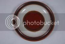 Denby Pottery plate 'Rondo' pattern
