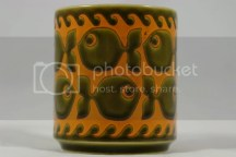 vintage John Clappison Hornsea Pottery mug