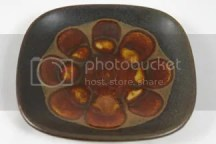 pottery pin dish