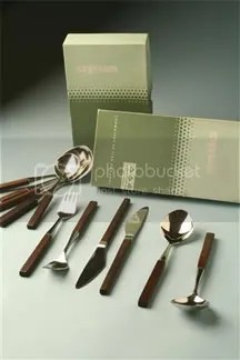 vintage Lundtofte 'Opus&quot; cutlery set