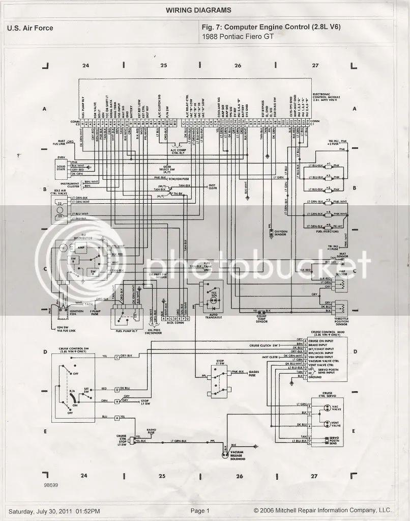64 chevy fuse diagram
