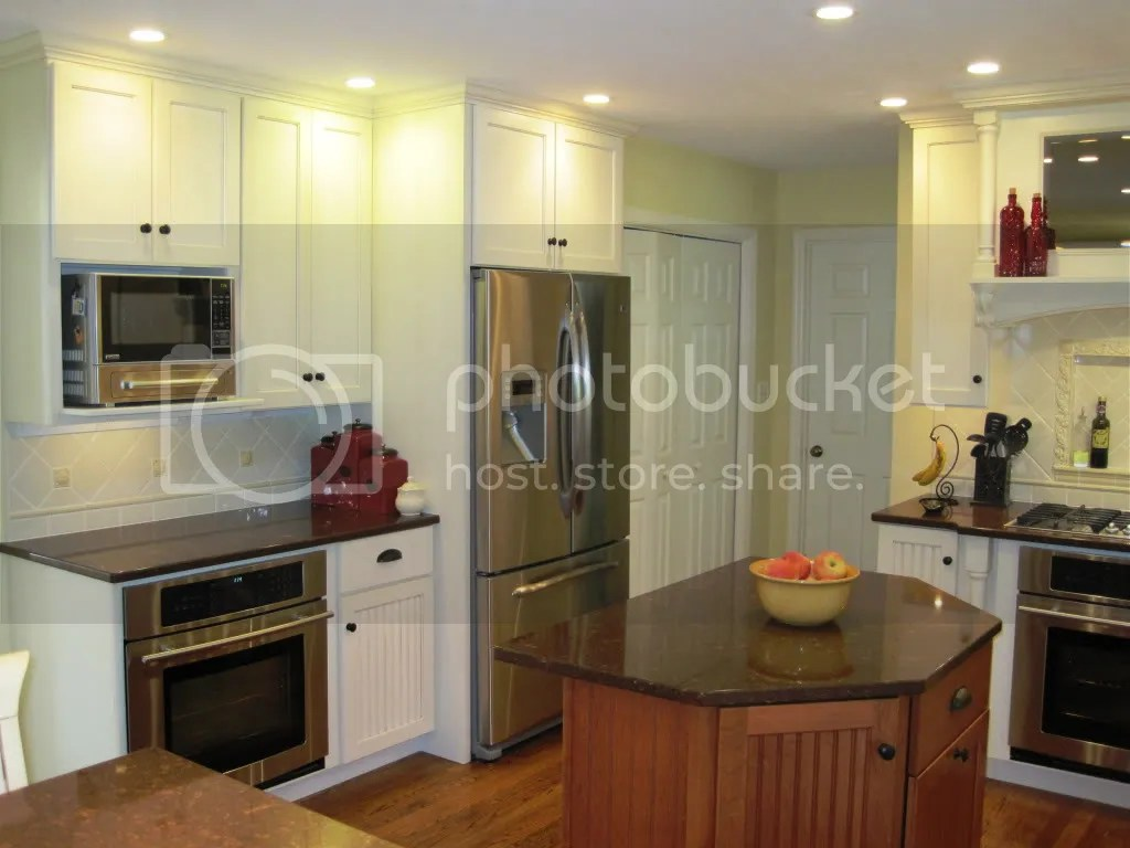 Kitchen Cabinets Around Refrigerator Can You Show Me The Cabinet Over Your Fridge Please
