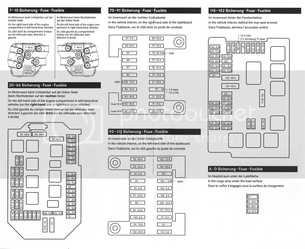 fuse box diagram for 2006 mercedes benz c230