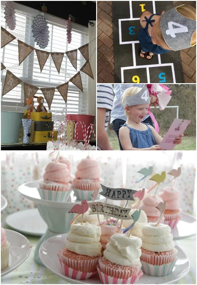 Hazel Turns 4 - Little Girls Birthday Party 5