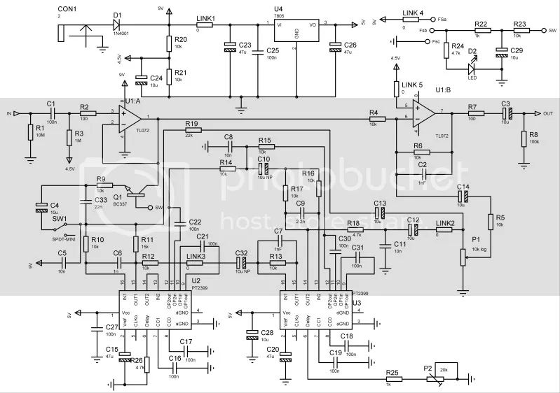 below is the actual schematic diagram of the test circuit