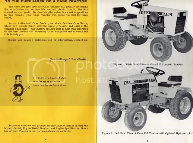 Case 220, 222 and 442 Owners Manual - MyTractorForum - The