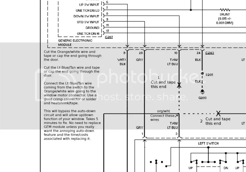 FIX GEM MODULE DRiver window problem - Ford F150 Forum - Community