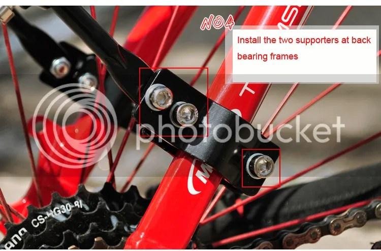 Mtb Mountain Road Bike Bicycle Rear Rack Carrier Pannier