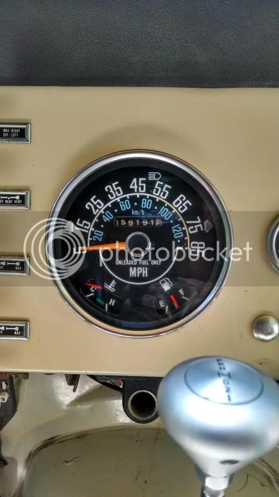 79 Jeep Cj5 Sdometer Wiring | ndforesight.co Jeep Cj Tach Wiring on