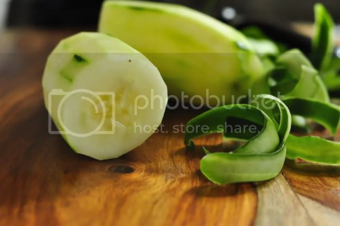 Cucumber peeled